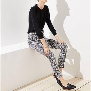 LOFT Leopard Print Skinny Jeans 🔥 NWT